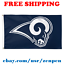 Deluxe-Los-Angeles-Rams-Team-Logo-Flag-Banner-3x5-ft-NFL-Football-2019-NEW thumbnail 1