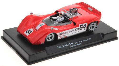 Thunderslot CA00304SW McLaren M6B Can-Am  Oscar Koveleski # 54 Mosport 69