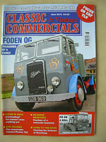 CLASSIC & VINTAGE COMMERCIALS MAGAZINE JUNE 2013 RESTORED FODEN OG