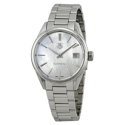 TAG Heuer Carrera Mother of Pearl Stainless Steel Ladies Watch THWAR1311BA0773