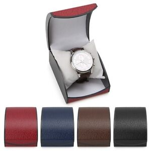 Leather-Wristwatch-Box-Display-Case-Holder-Fresh-For-Jewelry-Bracelet-Bangle