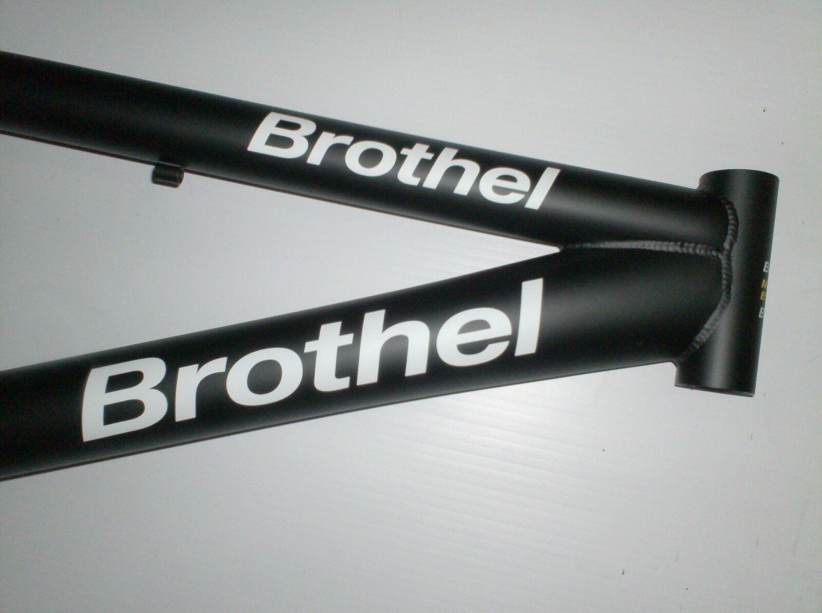 Marco De Bicicleta Bmx burdel M1 Negro-Vintage 2018-Totalmente Nuevo-Hecho En Europa Nuevo