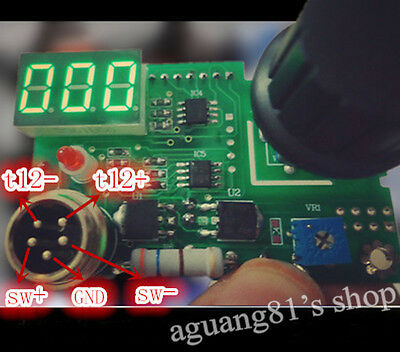 Digital 936 Soldering Iron Station Controller for A1322 T12 T2 Heating Core