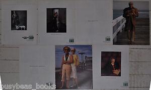 1988-89-AMERICAN-EXPRESS-adverts-x5-Neil-Simon-Al-Hirschfeld-Jessica-Tandy-etc