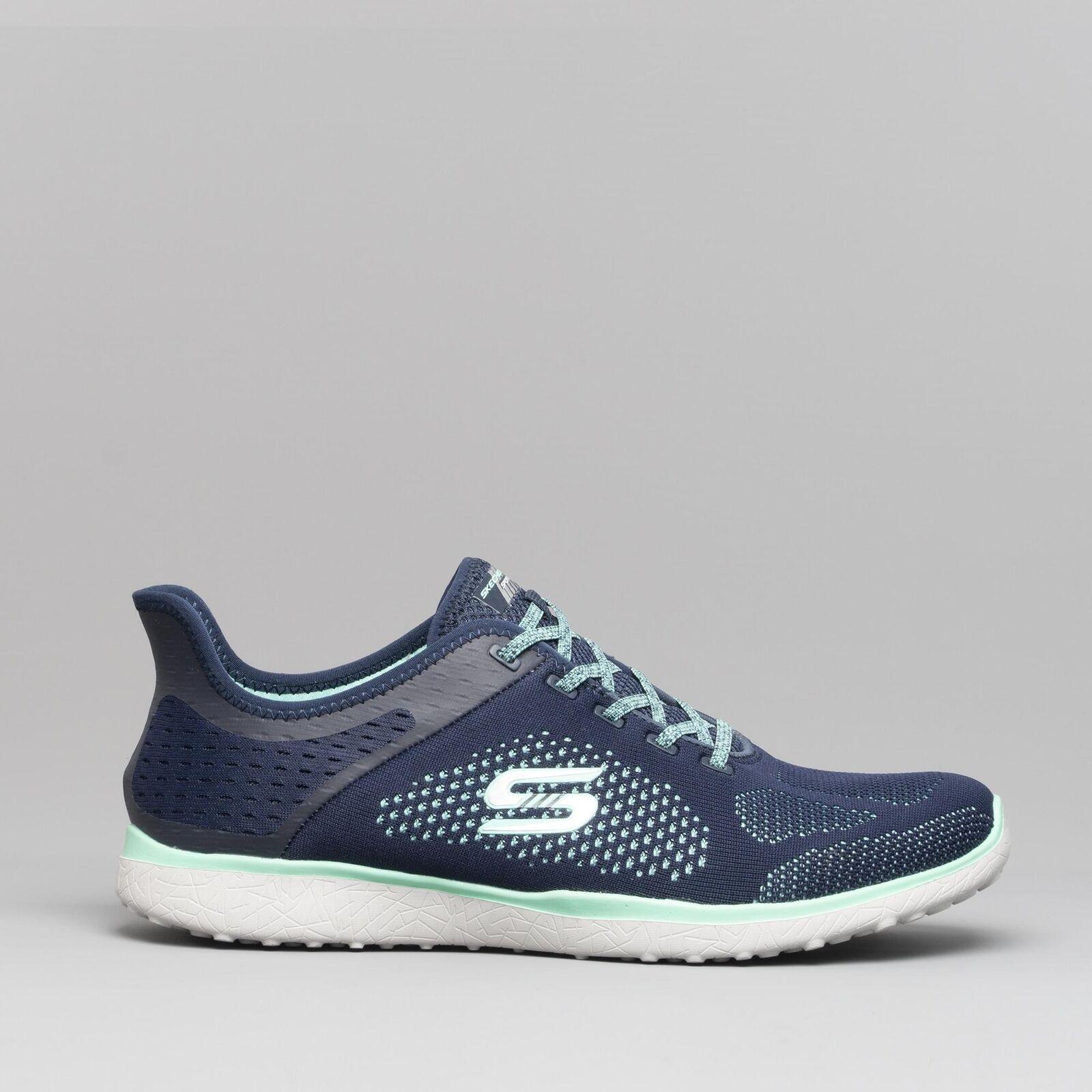 Skechers 23327 Microburst-SUPERSONICO Donna Sport Fitness   da ginnastica Navy
