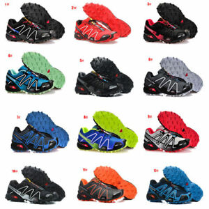Athletic-Men-039-s-Sports-Salomon-Speedcross-Running-Hiking-3-Casual-Shoes-Sneakers