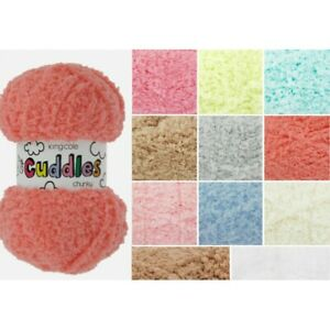King-Cole-Cuddles-Chunky-Fluffy-Knitting-Yarn-50g-Ball