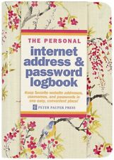 Password Book Tabs Internet Website Username Hardcover Spiral Bound Logbook