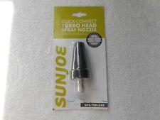 Sun Joe SPX-TSN-34S Quick-Connect Turbo Head Spray Nozzle