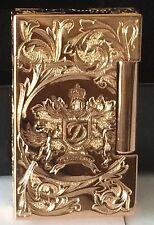 S.T. Dupont 2014 Fred Krill Blazon Ligne 2 Prestige Rose Gold Lighter 016914 NIB