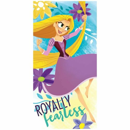 Disney Princess entremêlé Raiponce Serviette de plage-NEUF