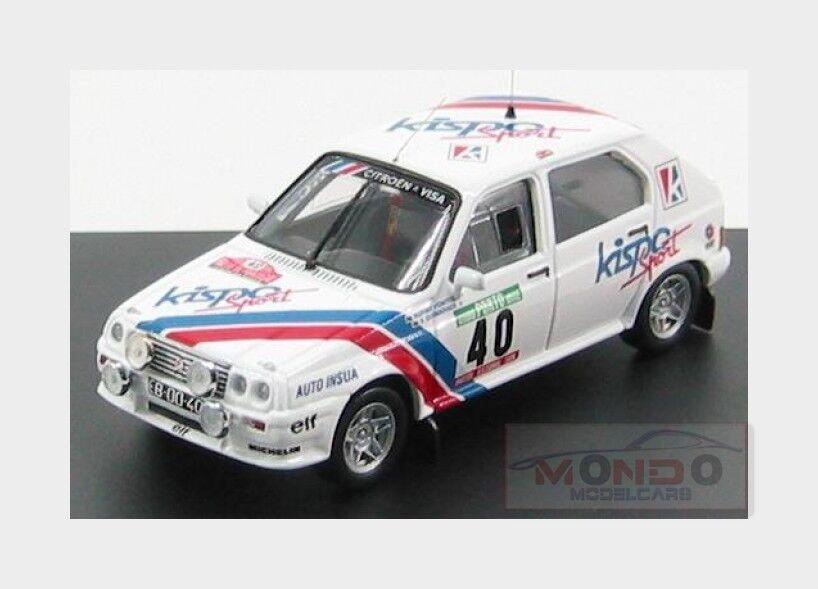 Citroen Visa Chrono Gr.B Rally Portugal 1983 R.Fontes TROF 43 TRMNP119