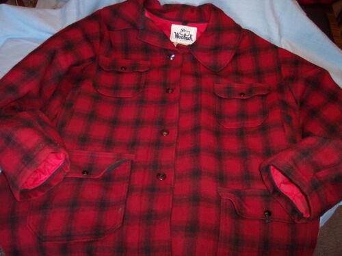 Vtg Woolrich Men Wool Woolen Mill Hunting Jacket 4