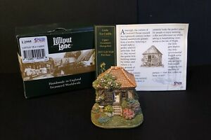 Lilliput-Lane-L2995-039-Little-Tea-Caddy-Upper-Swanmore-Hampshire-039-Box-Deeds-2007