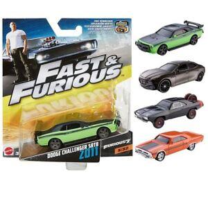 Fast-amp-Furioso-DIECAST-COCHES-Mattel-1-55-Vehiculo-De-Coleccion-Nuevo-Y-Sellado