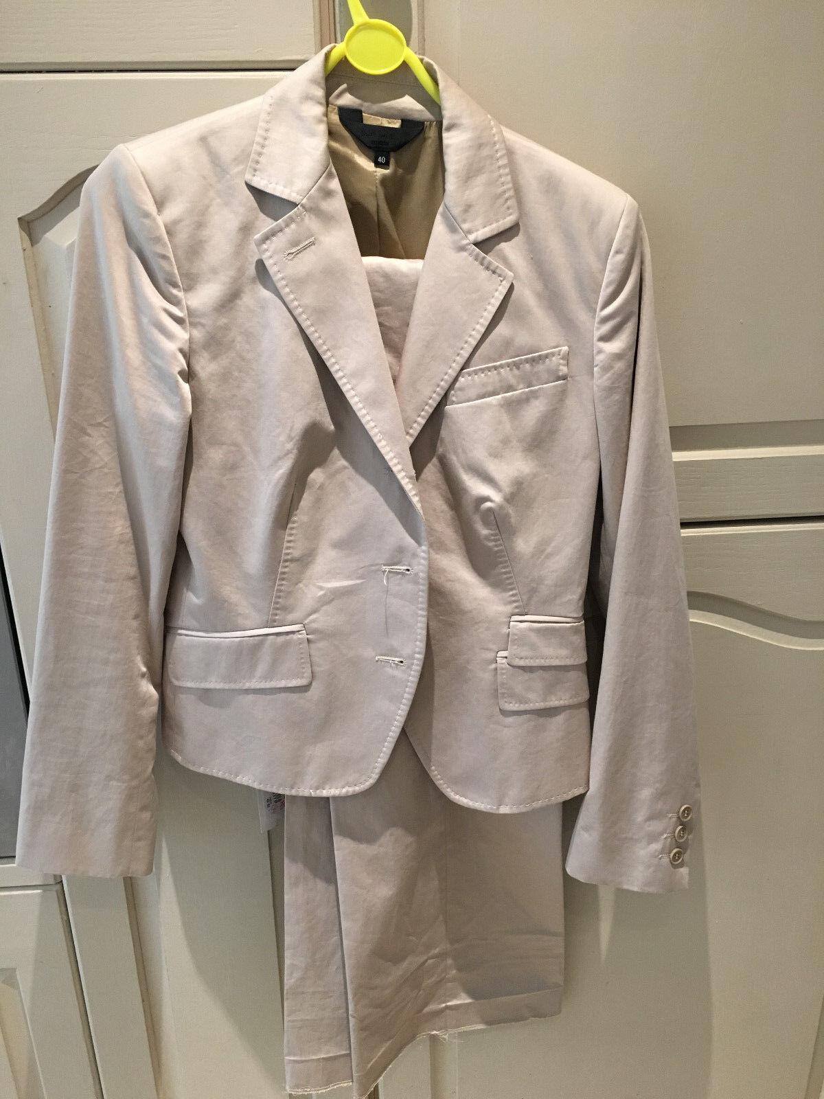 NUOVO Donna Paul Paul Paul Smith  GAMMA NERO  Beige Suit (Giacca e pantaloni) 6bdb65