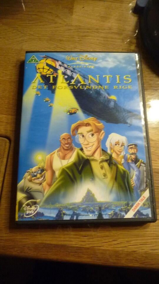 Atlantis det forsvundne rige, DVD, tegnefilm