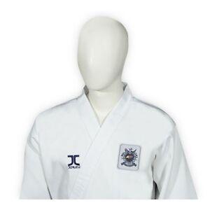 Taekwondo-Anzug-Poomsae-Kup-Ribbed-Anfaenger-Anzug-JCalicu-WTF-Gr-130-210