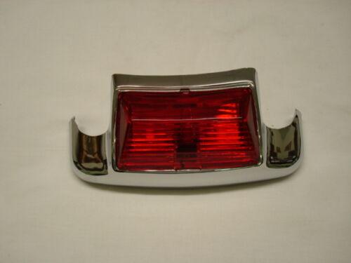 RED REAR FENDER MARKER LIGHT ASSEMBLY FOR HARLEY DAVIDSON