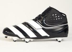 cheap for discount 33ee5 c7913 Image is loading Adidas-Malice-D-Black-amp-White-Football-Cleats-