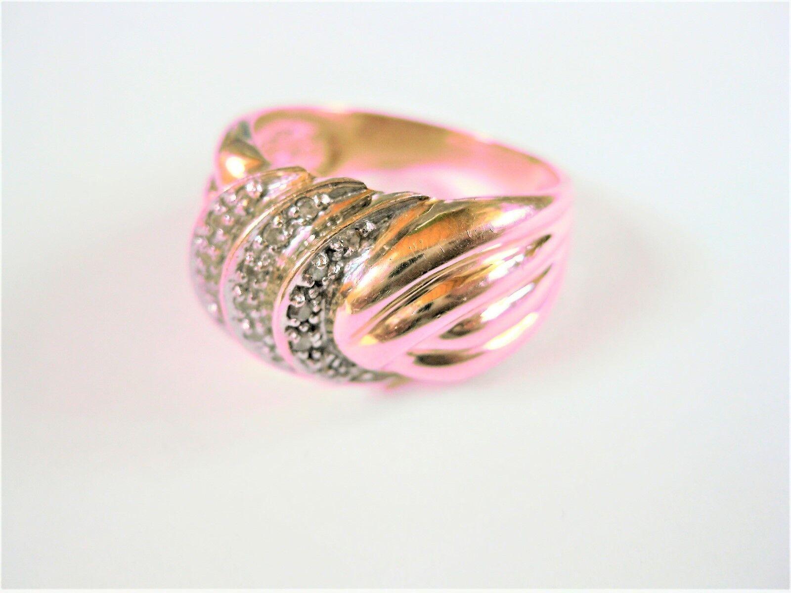 Anello in gold 585 con Brillanti, 7,2 G