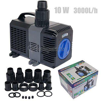 10W Filterpumpe Eco-Teichpumpe CTP-2800 Pumpe Bachlaufpumpe Energiespar 3000l/h