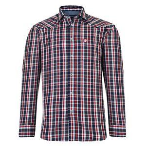 KAM New Mens Red Short Sleeve Check Shirt Shirts  BIG Tall 2XL 3XL 4XL 5XL 6XL