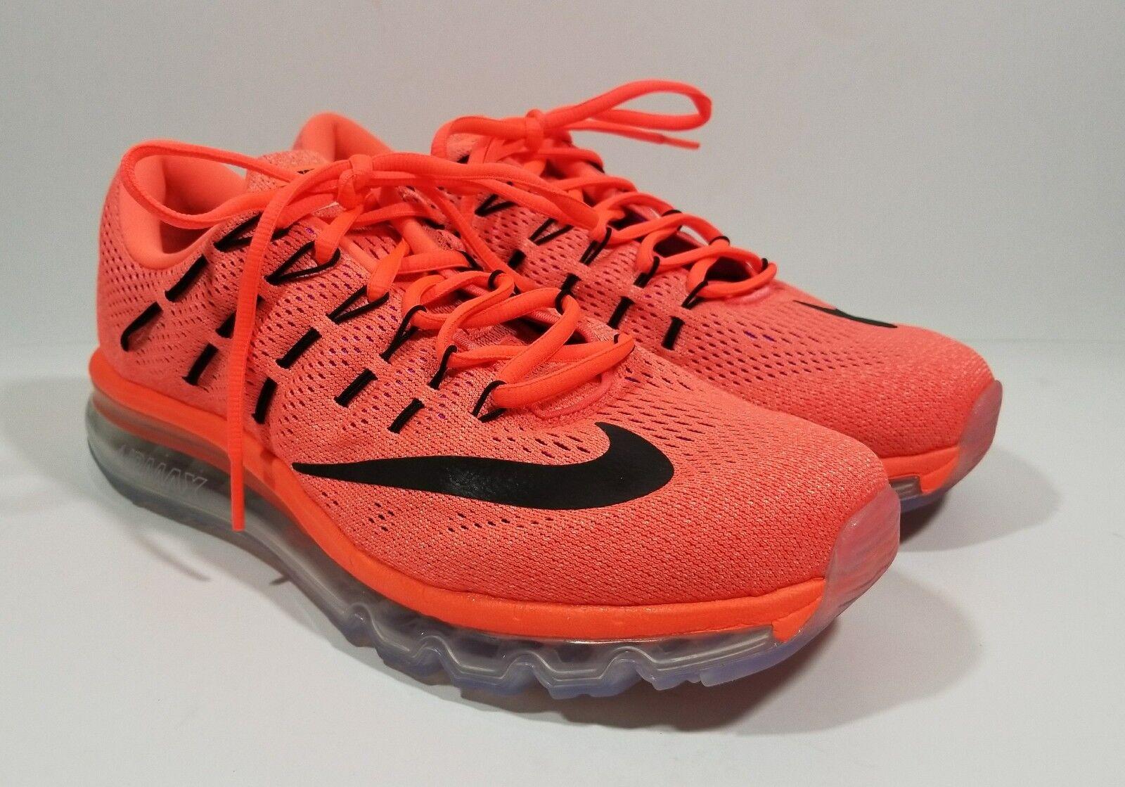 Nike Air Max 2018 Womens Running Cross Training Shoes Orange Black Comfortable Great discount
