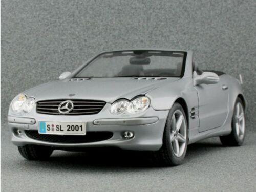 Maisto 1:18 silver MB Mercedes Benz SL