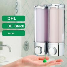 Desinfektion per Knopfdruck Wandmontage 2X300ML Seife Seifenspender Duschgel