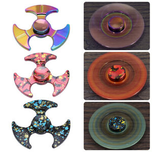 EDC-Fidget-main-Spinner-rainbow-doigt-Gyro-Jouet-Focus-ADHD-Autisme