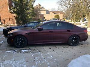 2018 bmw M5 first edition 1/400 RARE