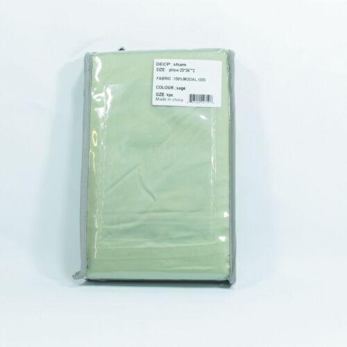 100/% Modal Sateen Luxury Sleep Best Quality Pillow Sham Set 2-Piece Pillowcase
