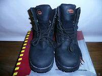 Avenger Safety Footwear Men's 7227 Work Boot,black,8.5 W Us
