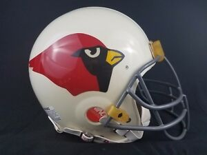 eeecc7c5 Details about Vintage Riddell 1960's Arizona Cardinals NFL Football Helmet  Large 7 1/4- 7 3/4