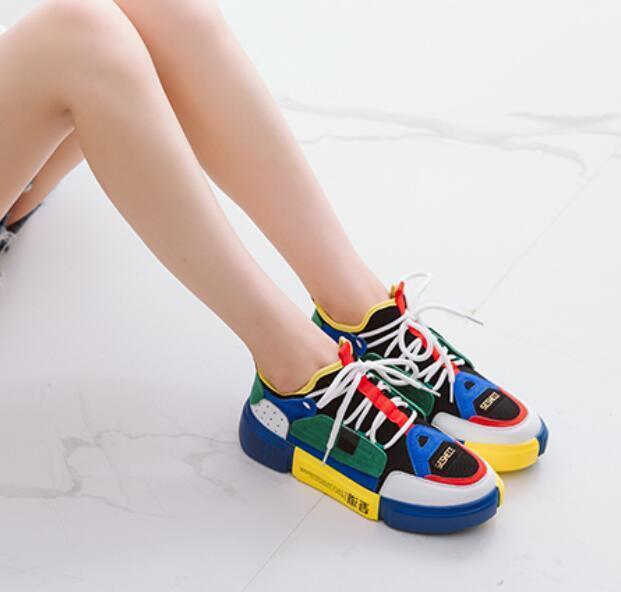New Summer uomo Multicolor Breathable Athletic Sneakers Fashion Boat Casual Shoes Scarpe classiche da uomo