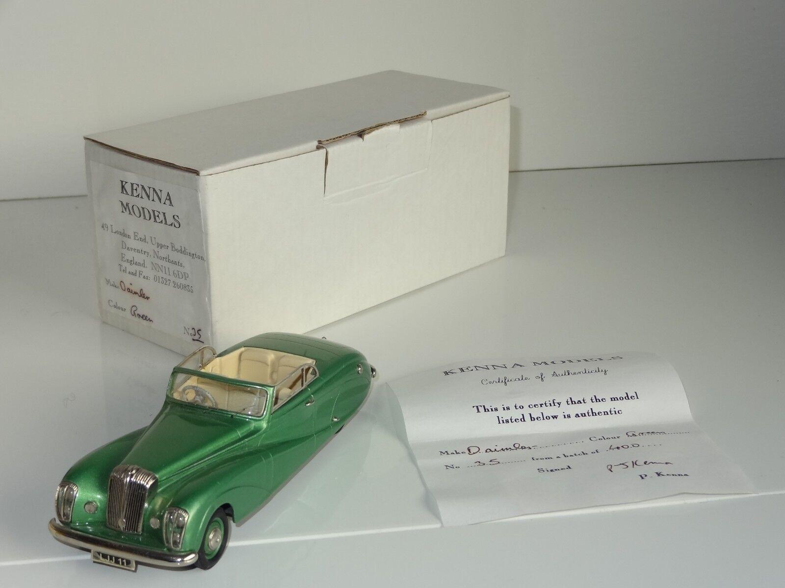 EB  Kenna Modelli Bianco Metallo Daimler