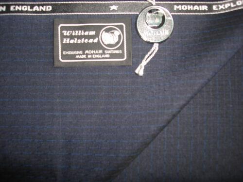 60/% kid MOHAIR et 40/% laine peignée drap tissu fabriqué par William Halstead