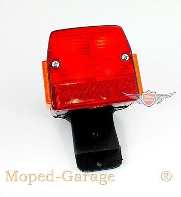 Puch Maxi Macho Mofa Moped Rücklicht komplett + Halter mit Bremslicht Neu *