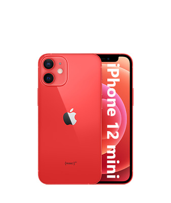 Apple IPHONE 12 Mini 5G 64GB Neuf Original Smartphone Ios 14 (Product) Rouge