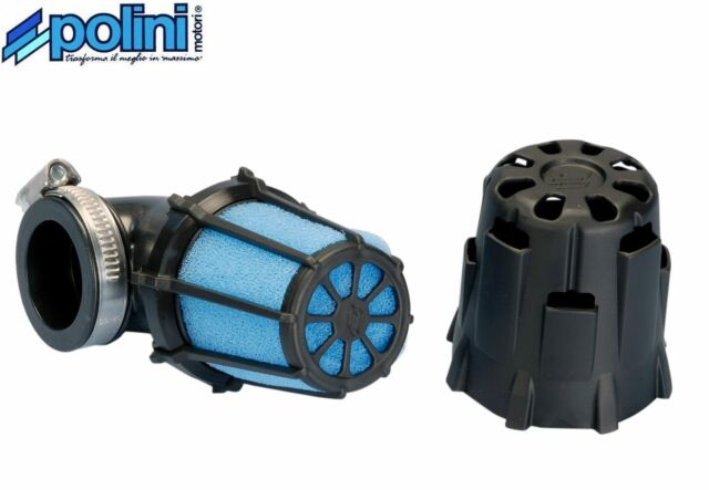 Filtre à Air Box Racing Polini 203.0096 37mm 90° Scooter Moto Quad