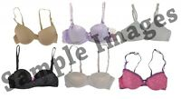 Assorted Pack Kid's Underwear For Girls Mixed Sizes & Styles Bras 30pc Bundle