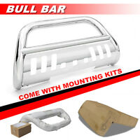 S/s Bull Bar Front Bumper Guard Guard Stainless For 1992-1994 Chevy Blazer