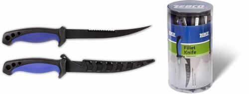 Zebco Filetiermesser mit 16,5 cm Fischschupper Fischfiletiermesser