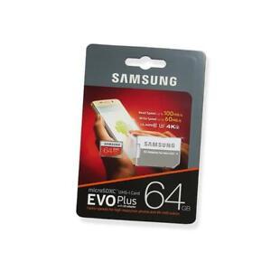 SCHEDA DI MEMORIA MICRO SD SDXC MB-MC64GA/EU 64GB CLASSE 10 SAMSUNG 4K ULTRA HD