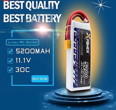 TURNIGY 5200 mAh 3 S 11.1 V lithium-ion POLYMER batterie 12 C 24 C FPV Multi-rotor Quadcoptère XT60 Radio Control