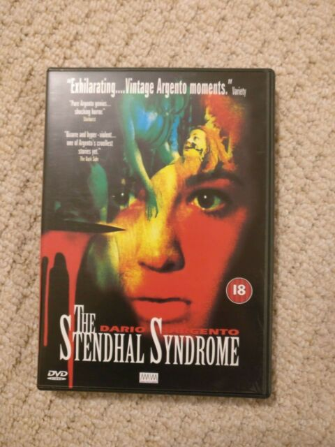The Stendhal Syndrome DVD PAL Region 0 PAL Dario Argento Rare OOP
