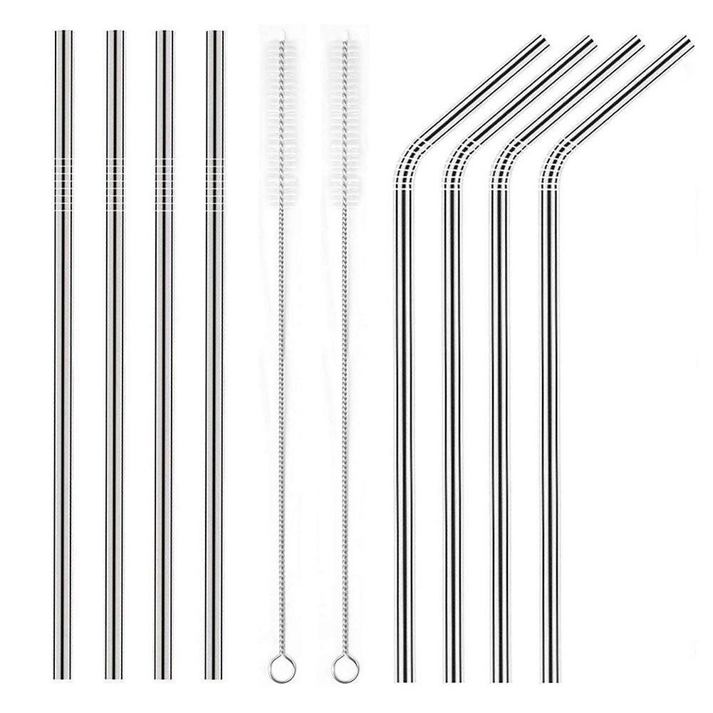 8pcs Straws   2pcs Brush 266mm)