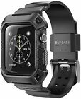 SUPCASE Rugged Protective Case With Strap Bands for Apple Watch 42mm Not 38mm
