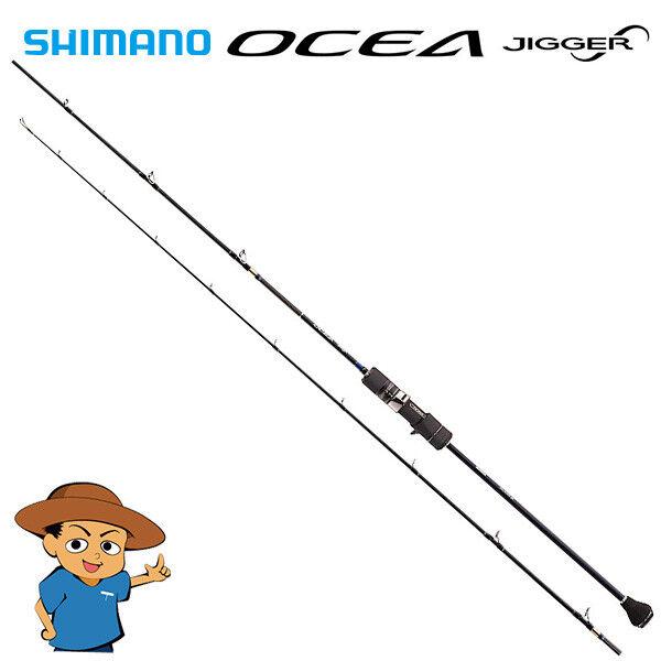 Shimano OCEA JIGGER INFINITY B636 6'3  baitcasting MAX 450g jigging fishing rod